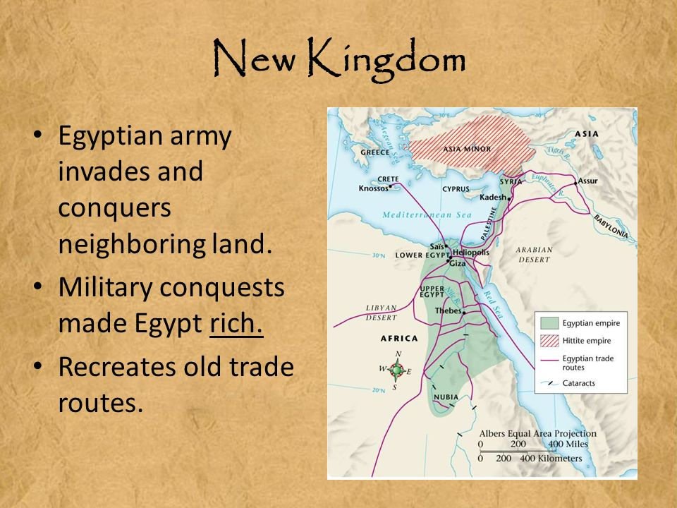 the new kingdom army essay The new kingdom, also referred to as  (the napoleon of egypt) expanded egypt's army and wielded it with great success to consolidate the empire created by his .
