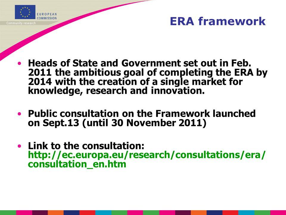 ERA framework