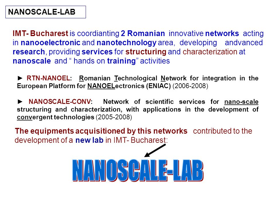NANOSCALE-LAB NANOSCALE-LAB