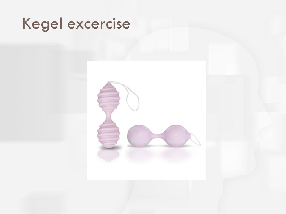 Kegel excercise
