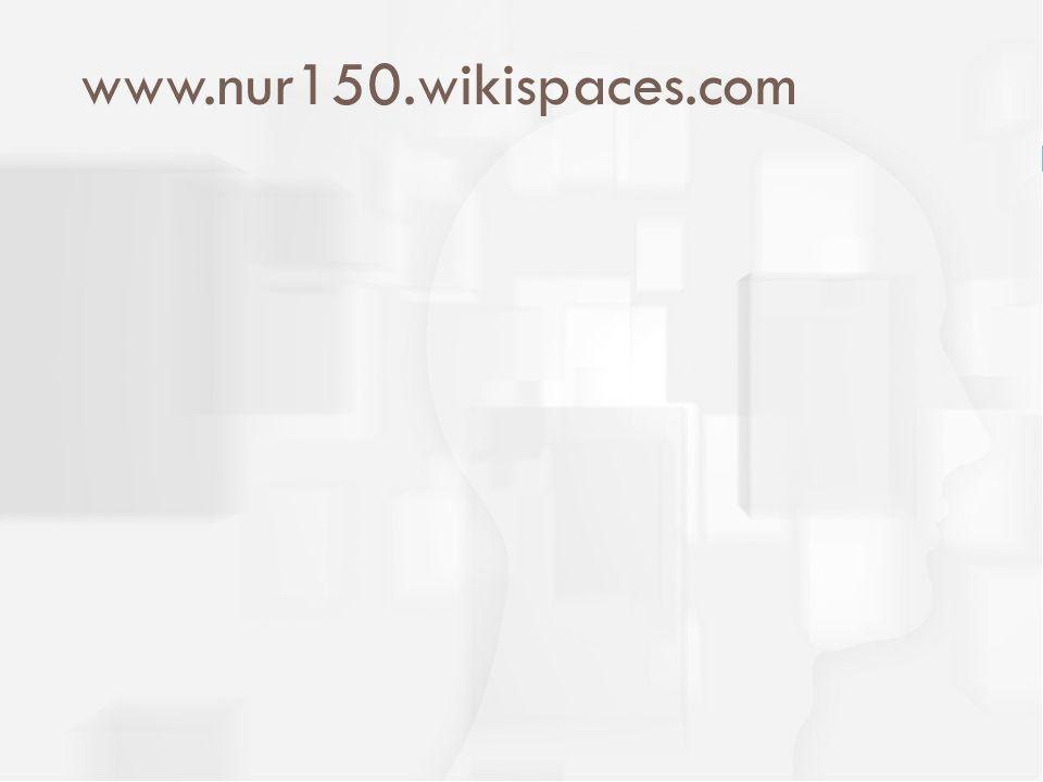 www.nur150.wikispaces.com