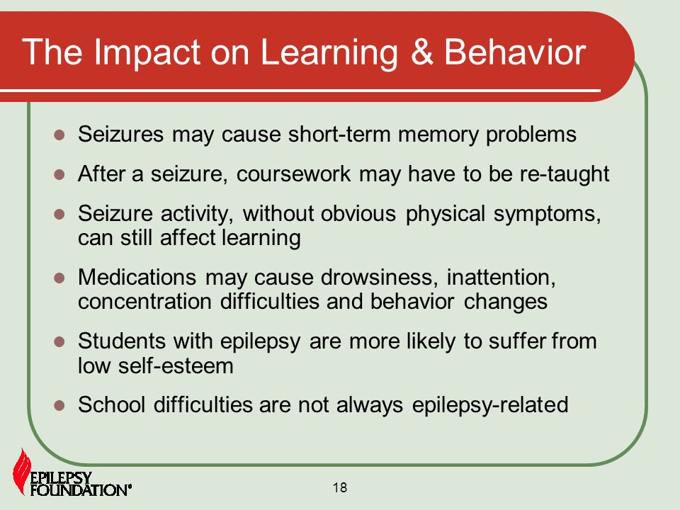 The Impact on Learning & Behavior