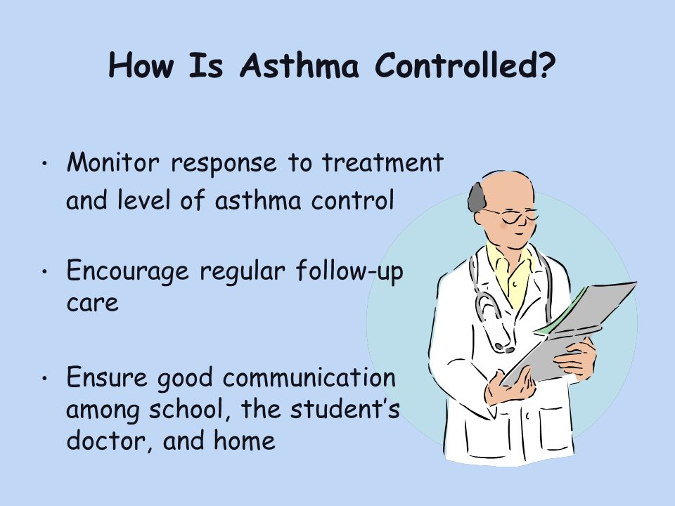 How Is Asthma Controlled