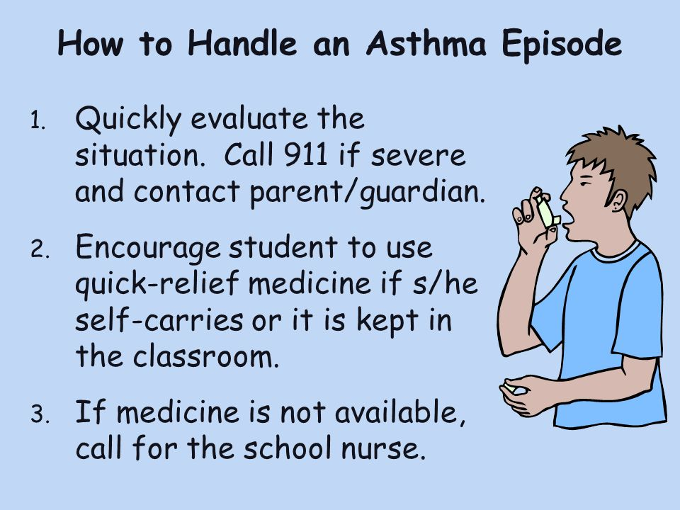 How to Handle an Asthma Episode