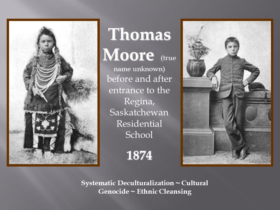 First Nations People in Canada and Residential Schools ...