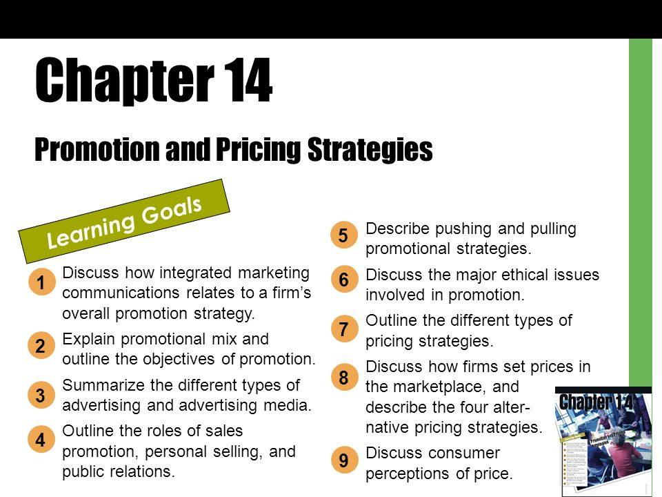pricing and promotion strategies in a business