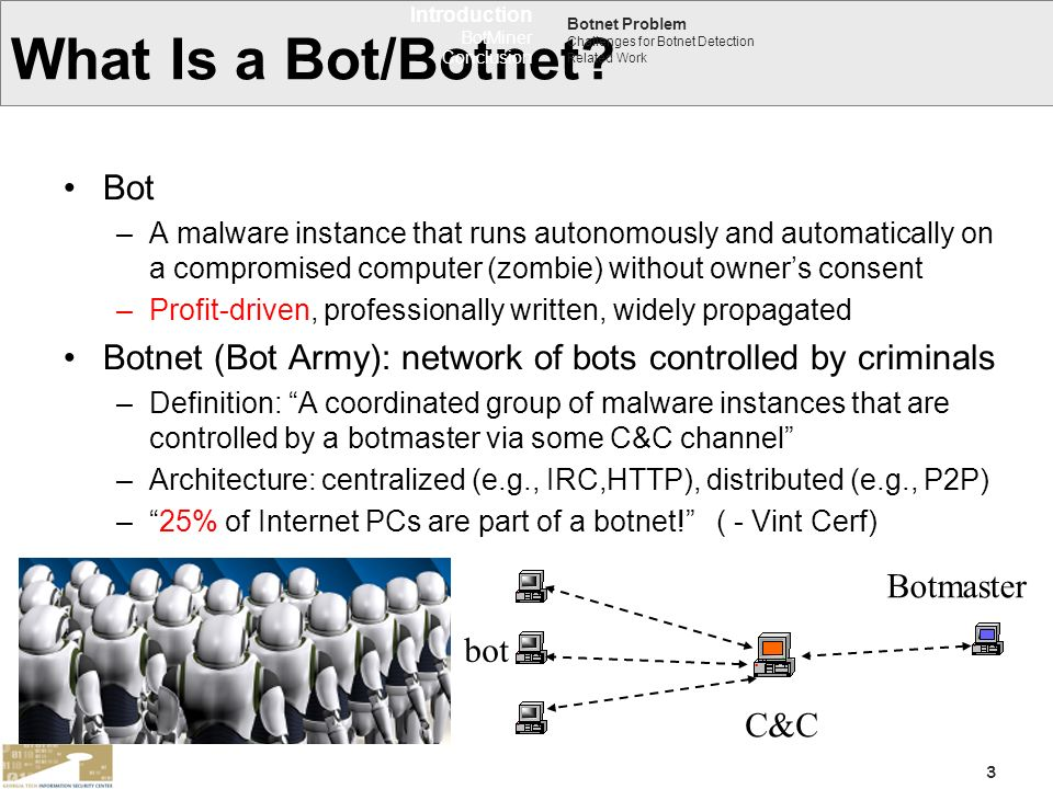 What Is a Bot/Botnet Bot