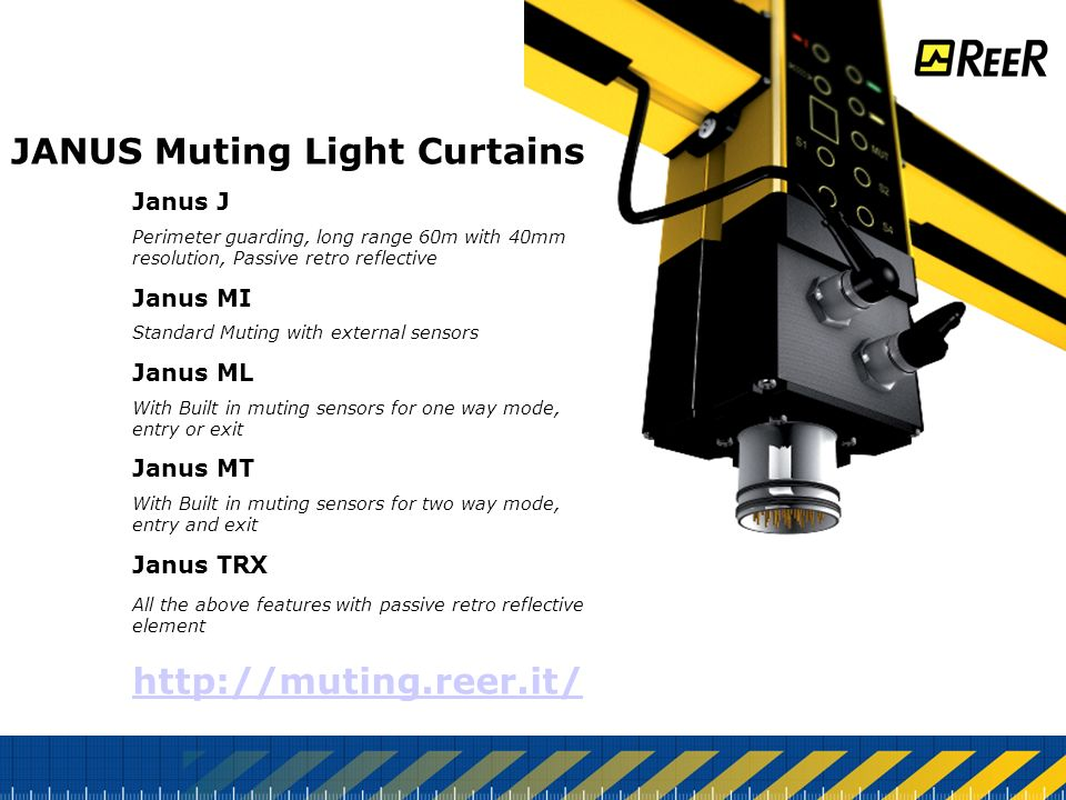 JANUS+Muting+Light+Curtains janus type 4 safety light curtains applications ppt download  at reclaimingppi.co