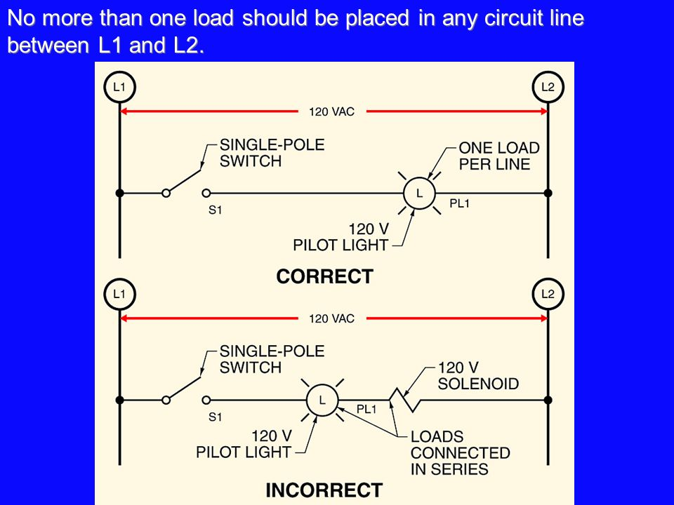 Chapter 5 control logic basic rules of line diagrams simplifying no more than one load should be placed in any circuit line between l1 and l2 asfbconference2016 Choice Image