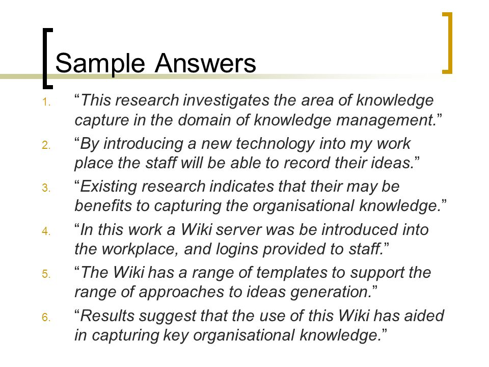 The project proposal ppt video online download for Knowledge capture template