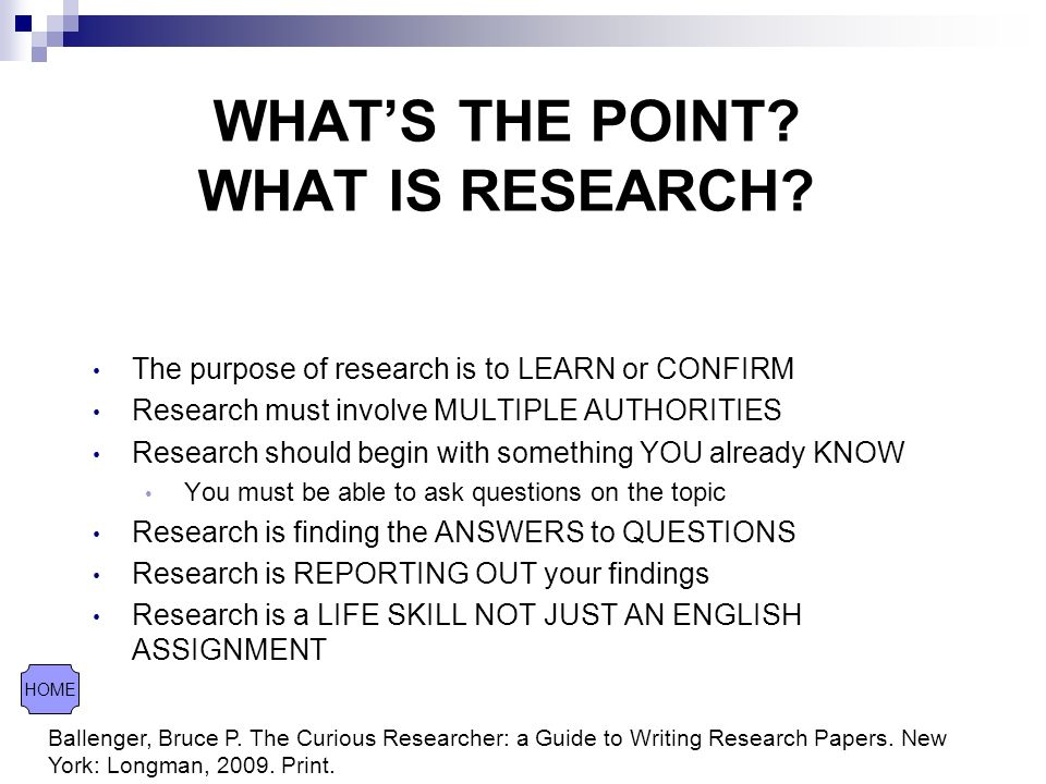 The Curious Researcher: A Guide to Writing Research Papers, 8th Edition