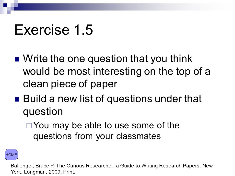 exercise research paper essay