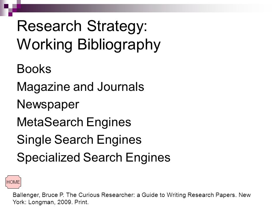 search strategies for research paper