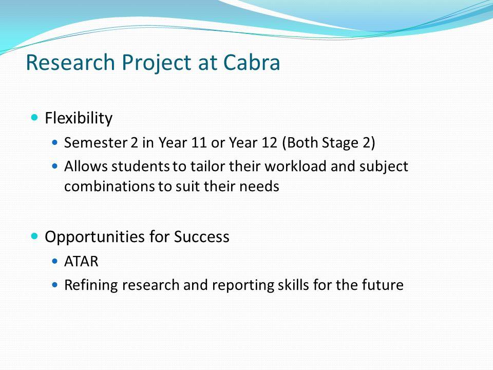 reseach project