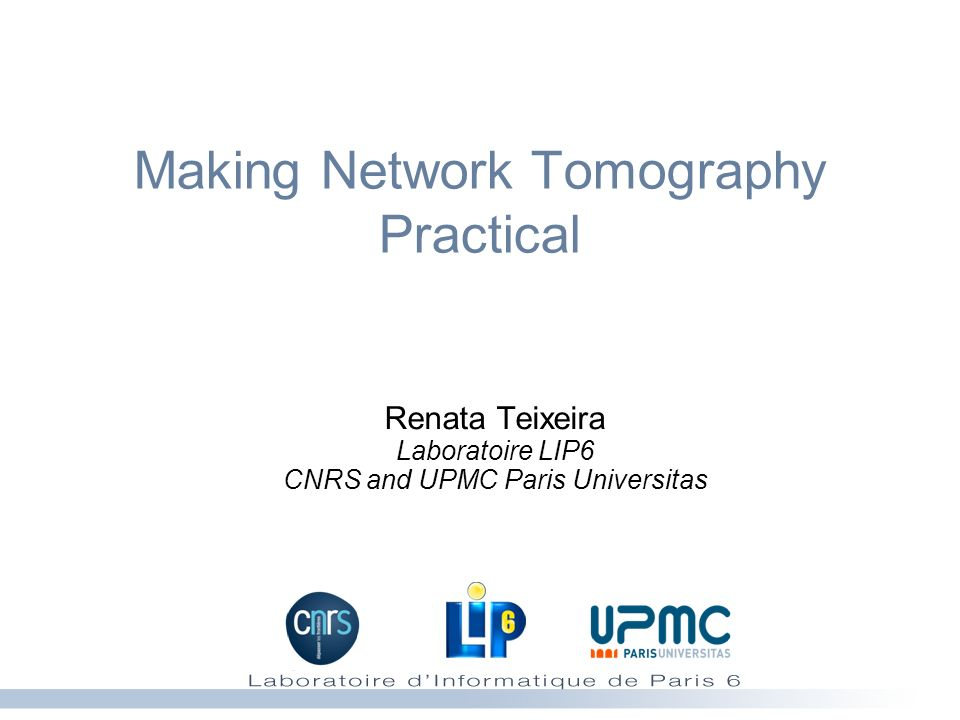 Making Network Tomography Practical