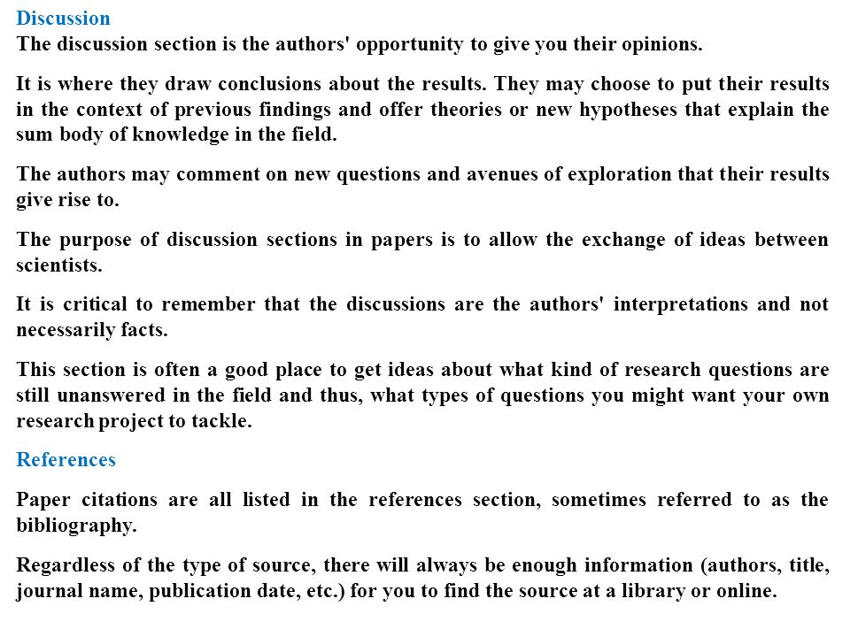 research paper analysis section Paper masters dicusses how to properly write conclusions and recommendations for research papers the conclusions and recommendations section in a thesis or research paper.