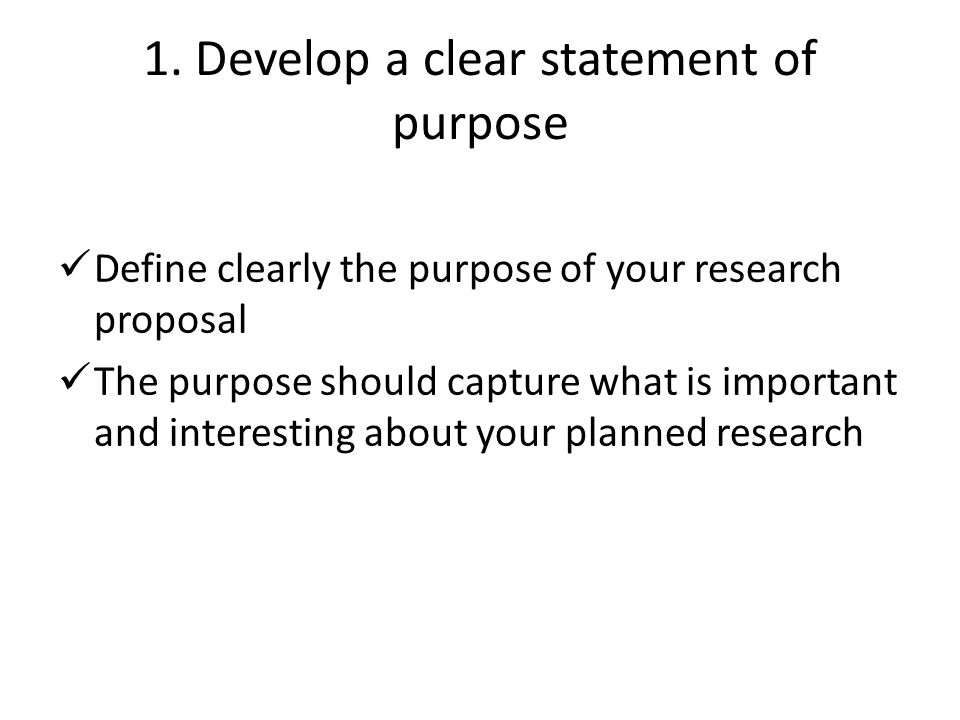 Developing Your Proposal Ppt Download