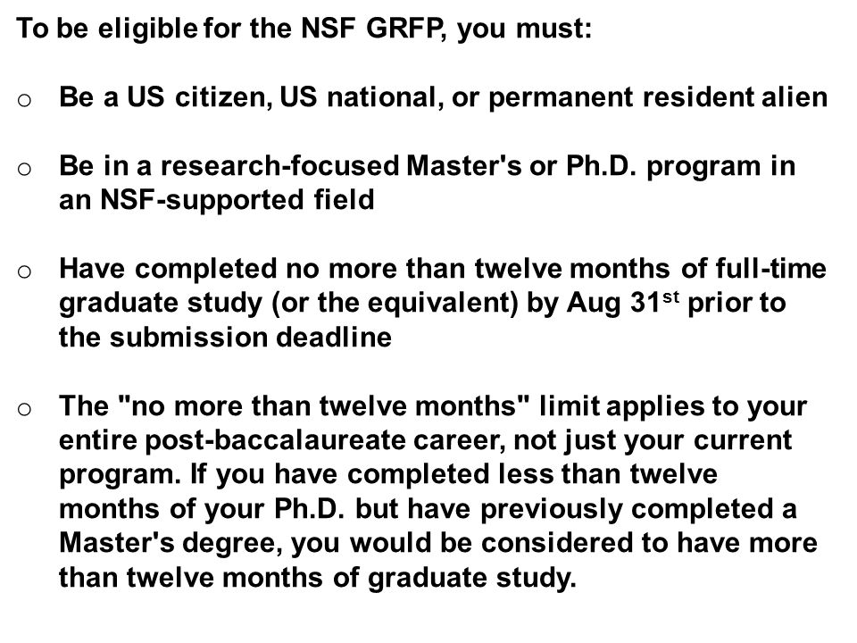 nsf grfp essay instructions Information: wwwnsfgov/grfp or wwwnsfgrfporg  examples of leadership and  unique  verify essays upload correctly and are in appropriate place 7.