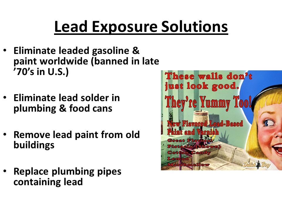 Solid and hazardous waste ppt download for When was lead paint banned