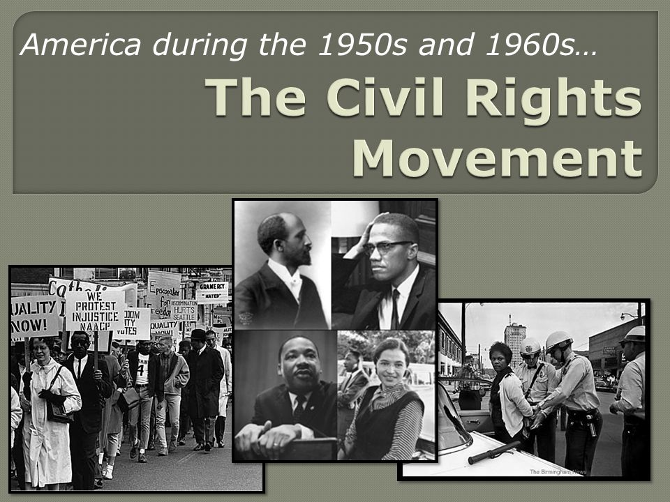 civil rights movement 1960s By 1960, the civil rights movement had gained strong momentum the nonviolent measures employed by martin luther king jr helped african american activists win supporters across the country and throughout the world.