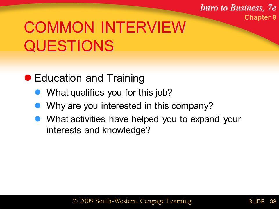 common job interview questions pdf