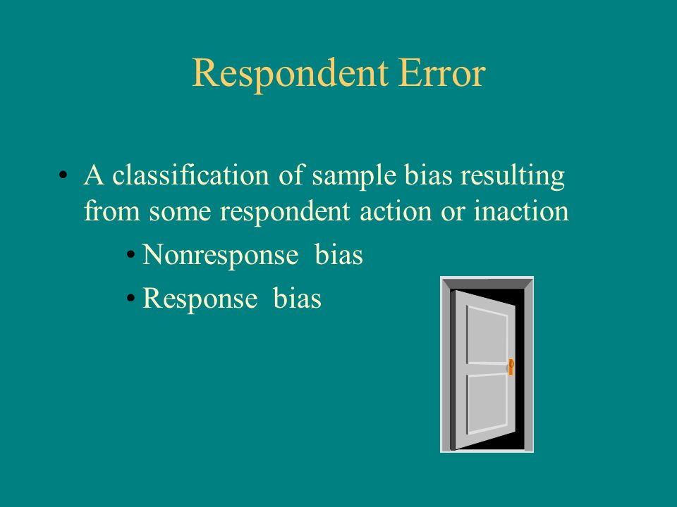 how to avoid nonresponse error