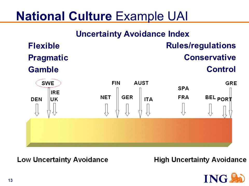 National Culture Example UAI