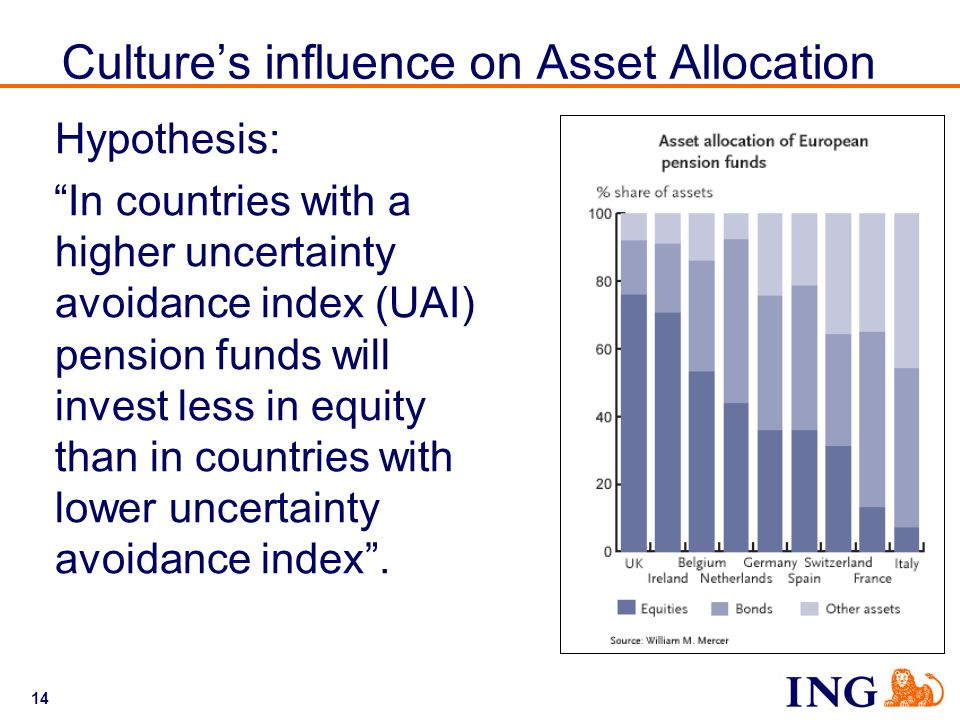 Culture's influence on Asset Allocation