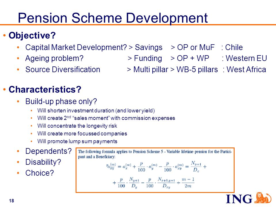 Pension Scheme Development
