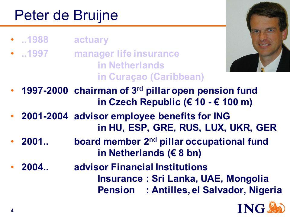 Peter de Bruijne ..1988 actuary