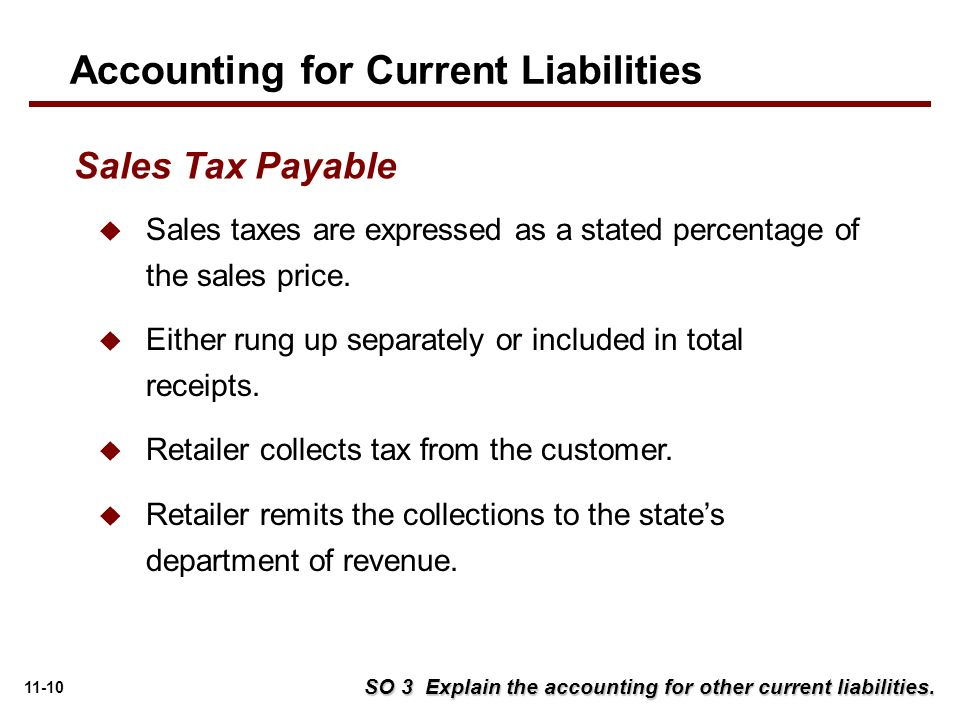 accounting for liabilities Understand a company's assets, liabilities & equity as reported on the   examples of current liabilities include accounts payable, demand.