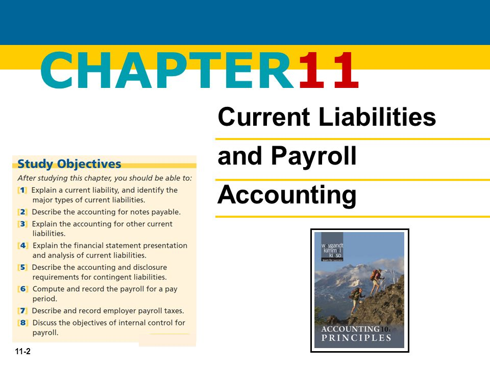 chapter 11 current liabilities and payroll accounting Current liabilities and payroll uploaded by fernando calle download with google download with facebook or download with email current liabilities and payroll download current liabilities and payroll uploaded by.