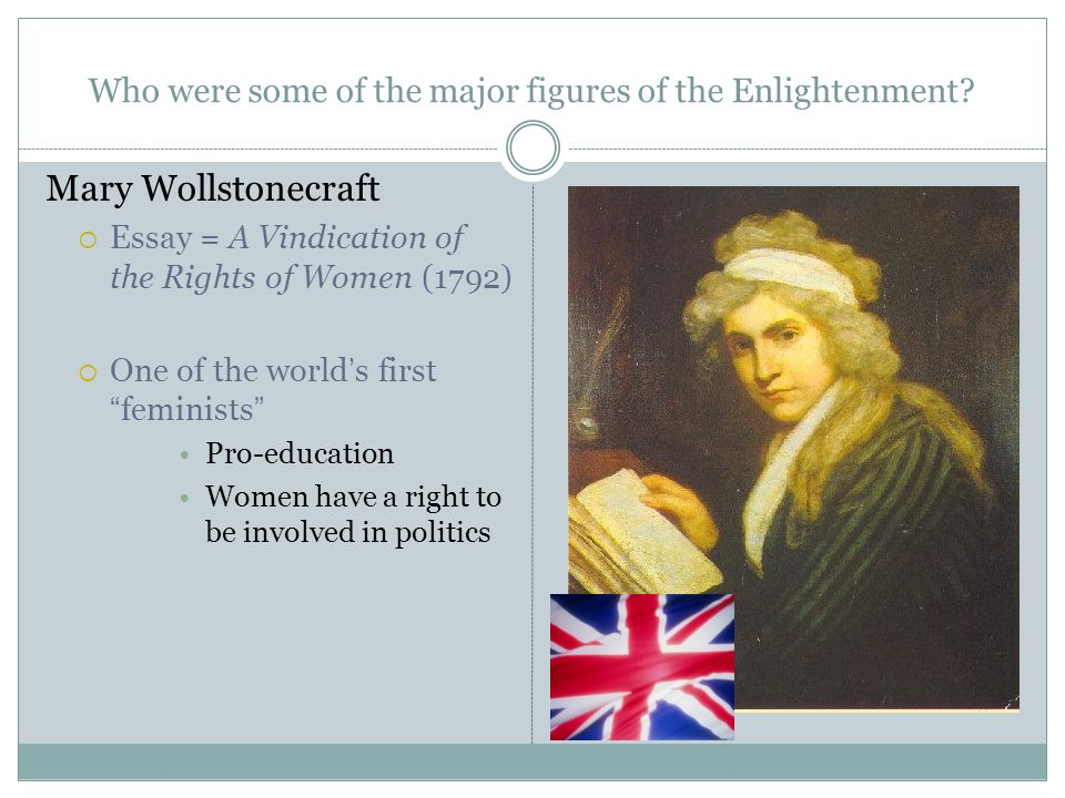 womens rights suppressed according to mary wollstonecraft I did not enjoy a vindication of the rights of  though mary shelley did (arguably, according to the  vindication: a life of mary wollstonecraft by.