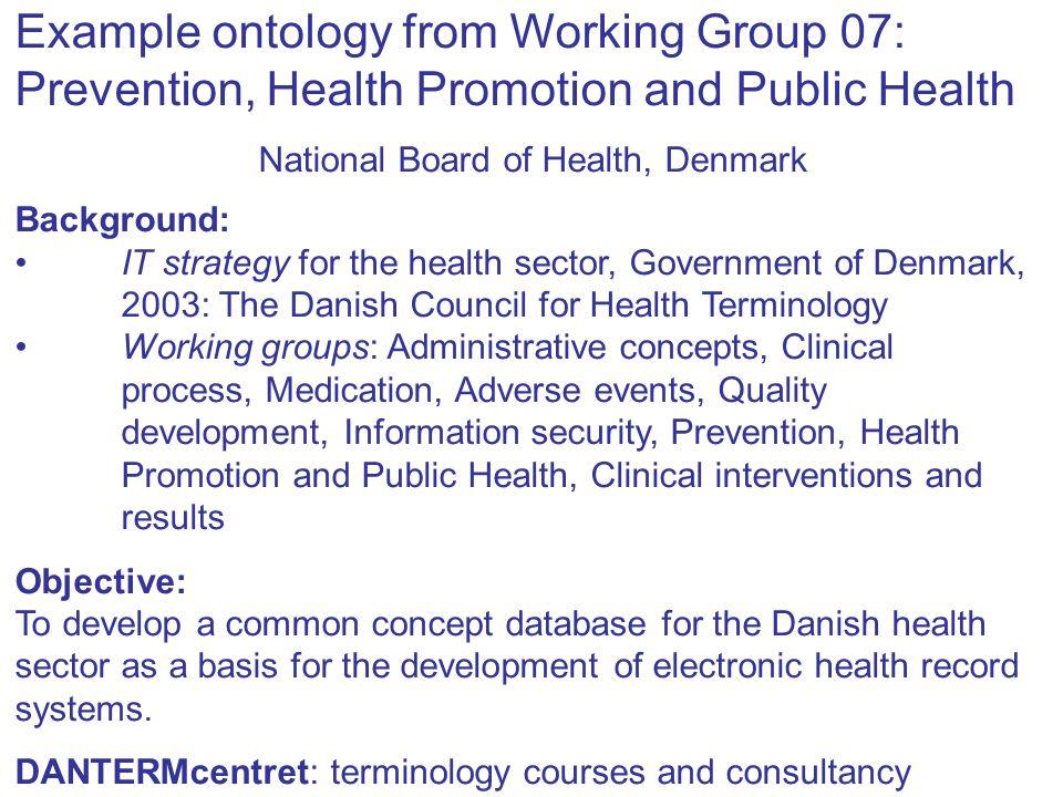 National Board of Health, Denmark
