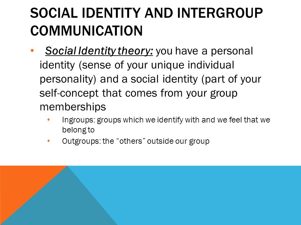 authority and social identity new concepts Scholarly attention to issues of group agency and political action  collective  identity is a concept grounded in classic sociological constructs:  becker, and  others, the social constructionist approach to identity rejects any.