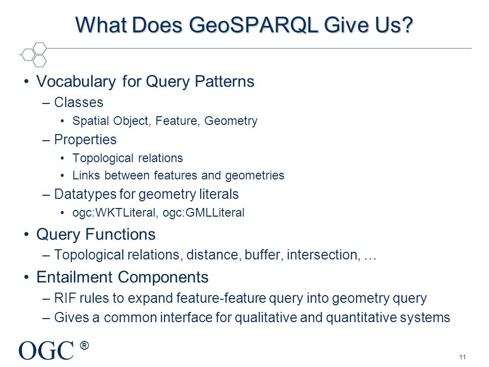What Does GeoSPARQL Give Us