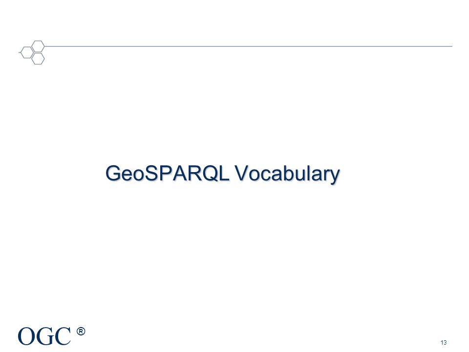 GeoSPARQL Vocabulary