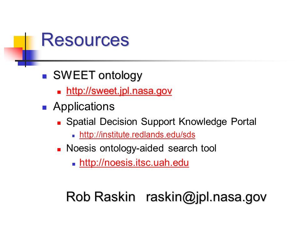 Rob Raskin raskin@jpl.nasa.gov