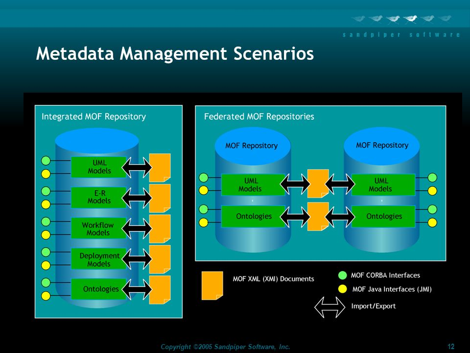 Metadata Management Scenarios