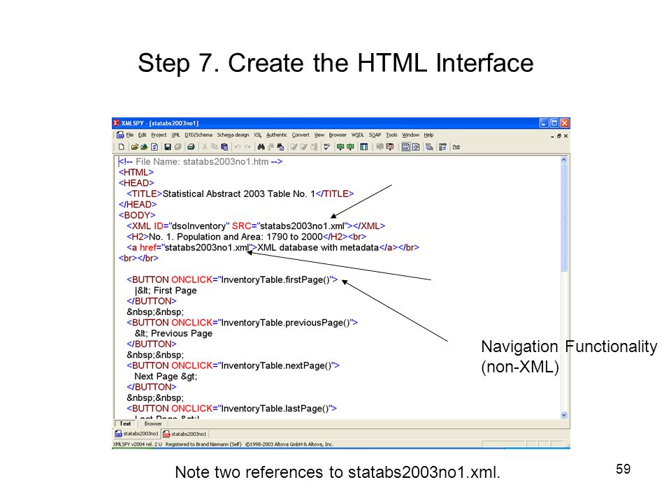 Step 7. Create the HTML Interface