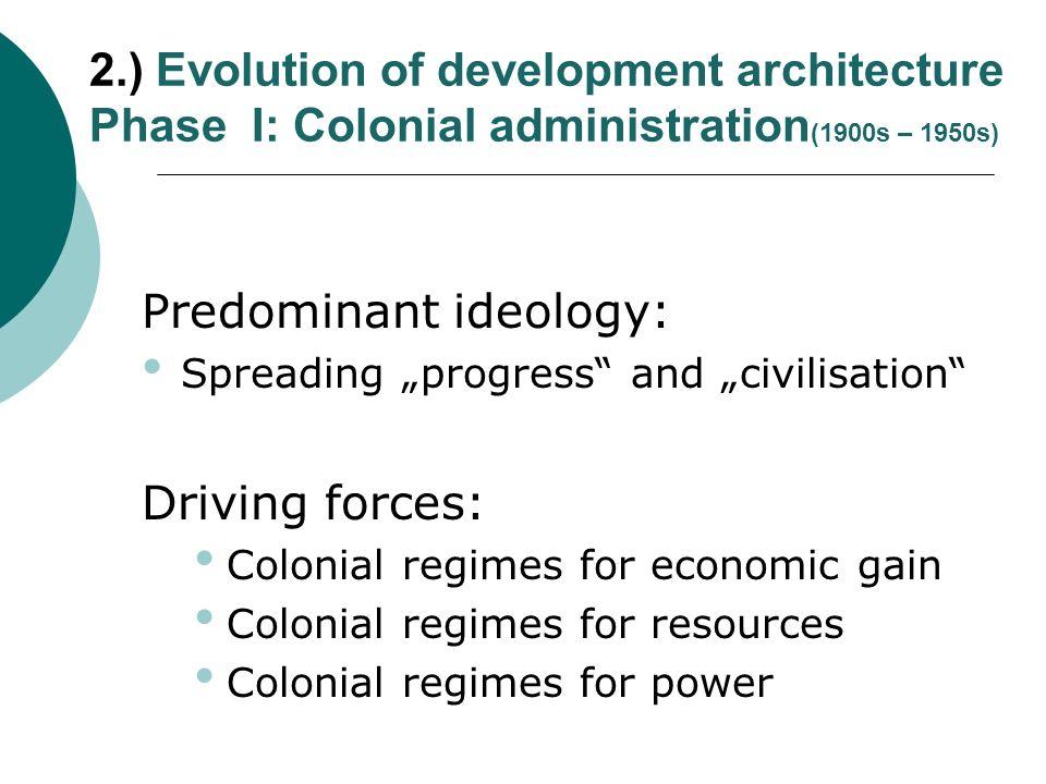 Predominant ideology: