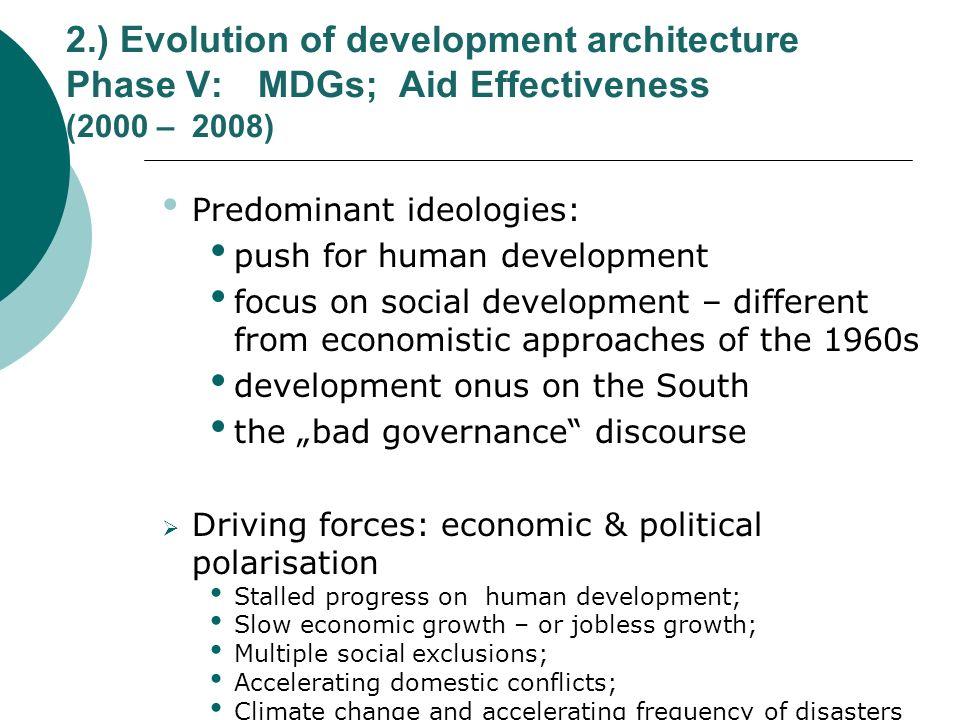 2. ) Evolution of development architecture Phase V: