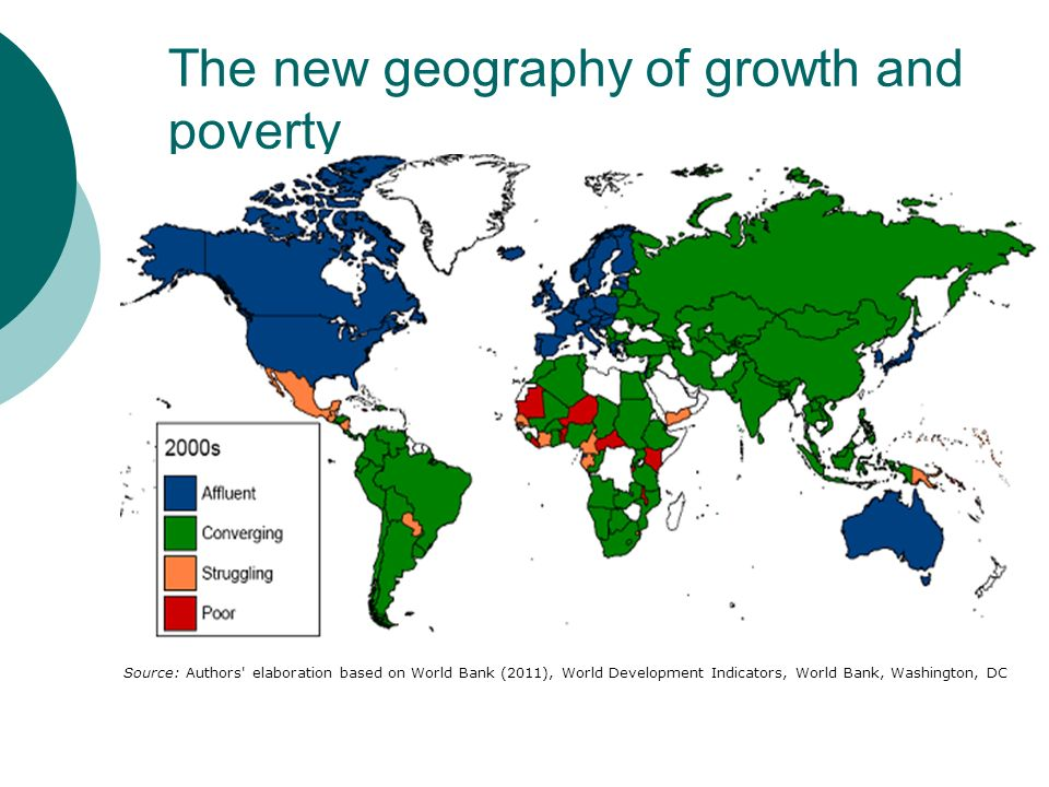 The new geography of growth and poverty