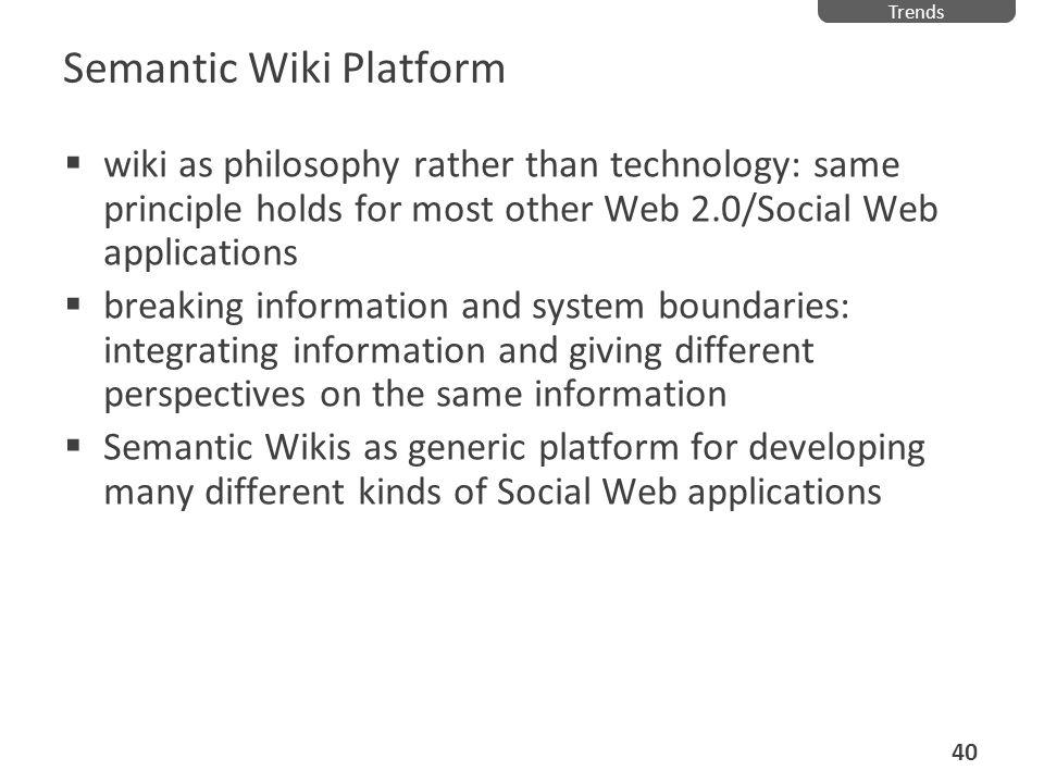 Semantic Wiki Platform