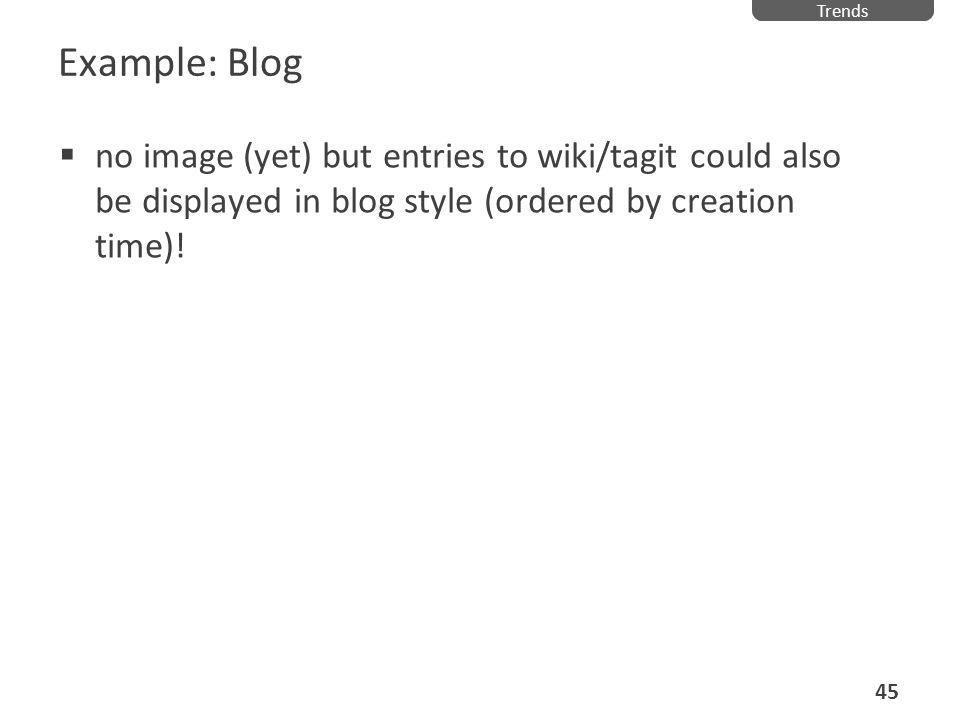 TrendsExample: Blog.