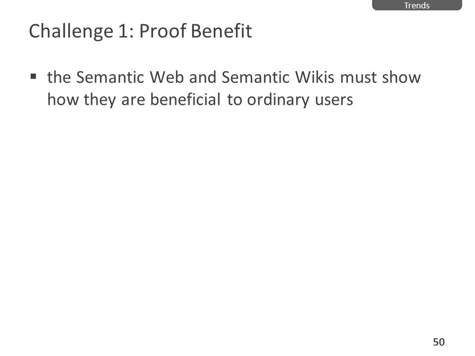 Challenge 1: Proof Benefit
