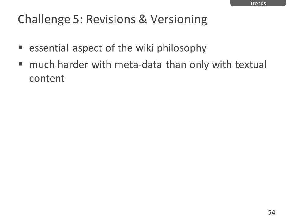 Challenge 5: Revisions & Versioning