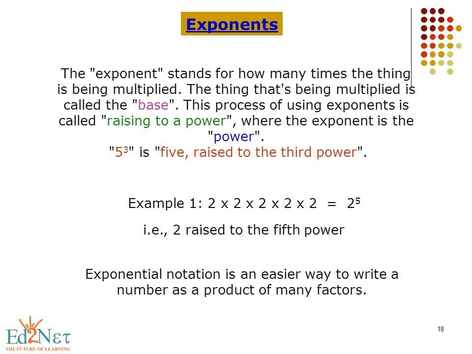 Introduction to scientific notation