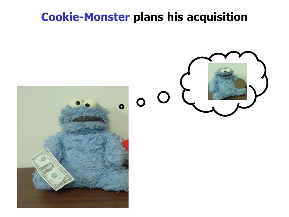 Cookie-Monster plans his acquisition