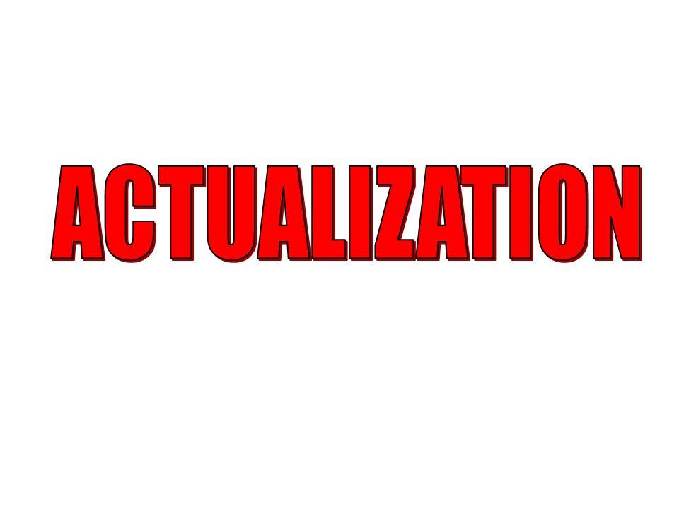 ACTUALIZATION